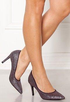 SOFIE SCHNOOR Shoe High Heel Glitter Purple Glitter Bubbleroom.se