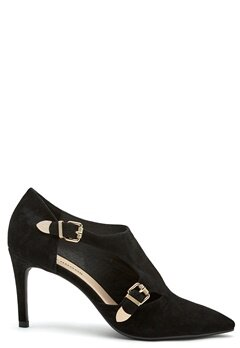 SOFIE SCHNOOR Shoe Stiletto Suede Black Bubbleroom.se
