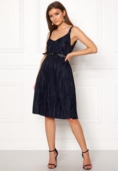 VILA Solana Strap Dress Total Eclipse Bubbleroom.se