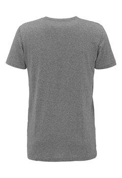 Solid Elif T-shirt 8236 Grey Mel Bubbleroom.no