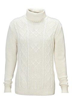 Solid Elmer Knit 0050 Milky White Bubbleroom.no