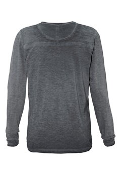 Solid Elmund T-shirt 2958 Jet Black Bubbleroom.no