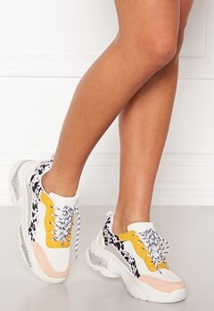 SoWhat 528 Sneakers White/Yellow Bubbleroom.se