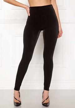 Spanx Velvet Leggings Very Black Bubbleroom.se