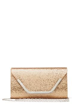 Koko Couture Stella Glitter Bag Light Gold Bubbleroom.se