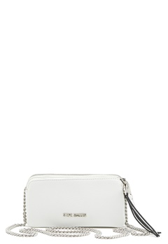 Steve Madden Btinsley Shoulderbag White Bubbleroom.fi