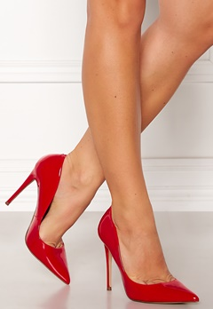 Steve Madden Daisie Pumps Red Bubbleroom.se