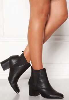 Steve Madden Flaknei Boot Black Leather Bubbleroom.se