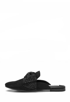 Steve Madden Harlan Slip-on Black Suede Bubbleroom.fi