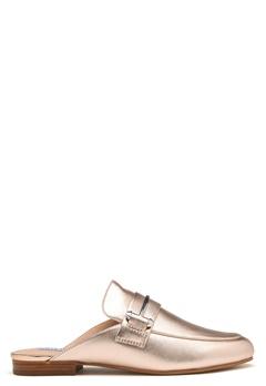 Steve Madden Kera Mule Leather Shoes Rose Gold Bubbleroom.se