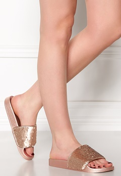 Steve Madden Softey-S Slipper Rose Gold Bubbleroom.se