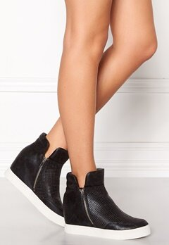Steve Madden Wedge Sneaker Black Bubbleroom.se