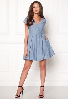 Stylein Jabir Dress Denim Blue Bubbleroom.dk
