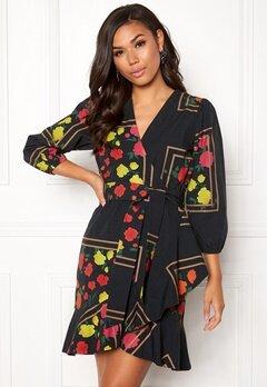 Stylein Jones Dress Flower Print Bubbleroom.se