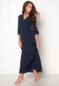Stylein Siho Dress Dark Navy Bubbleroom.no