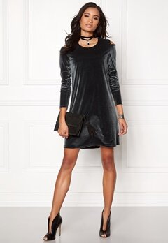 Stylein Tate Dress Grey Bubbleroom.se