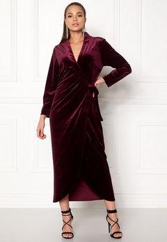 Stylein Taylor Dress Plum Bubbleroom.no