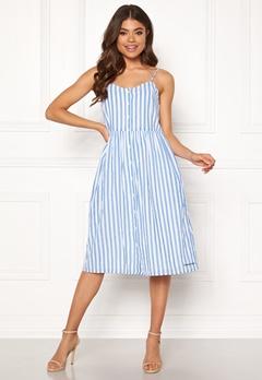 TOMMY JEANS Summer Stripe Stra Dress 400 Serenity/Classic Bubbleroom.se
