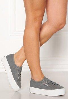 Superga Acotw Linea Sneakers Grey DK Sage Bubbleroom.se