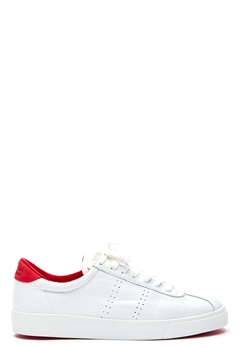 Superga Comfleau Sneakers White-Red 917 Bubbleroom.se