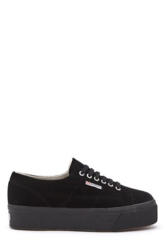 Superga Velvet Sneakers Black Bubbleroom.no