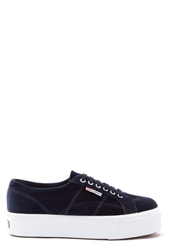 Superga Velvet Sneakers Grey Bubbleroom.se