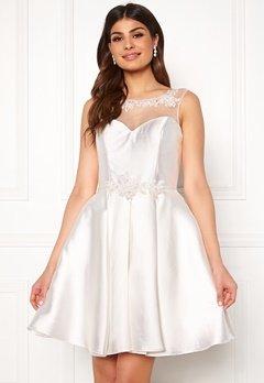 SUSANNA RIVIERI Embroidered Dream Dress Ivory Bubbleroom.se