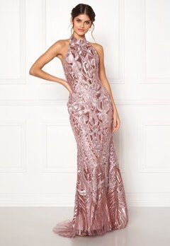 SUSANNA RIVIERI Ceremonial Dream Dress Rose Bubbleroom.se