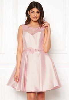 SUSANNA RIVIERI Embroidered Dream Dress Blush Bubbleroom.se