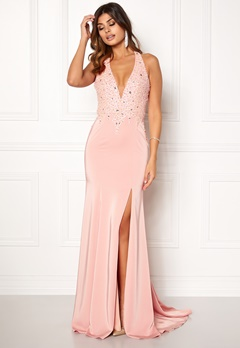 SUSANNA RIVIERI Sequin maxi Dress Rose Bubbleroom.dk