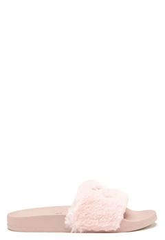Svea Alex Fur Slipper Blush Bubbleroom.se