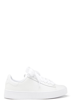 Svea Anna Leather Lace Sneaker White Bubbleroom.se