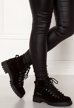 Svea Chris Suede Boots 900 Black Bubbleroom.se