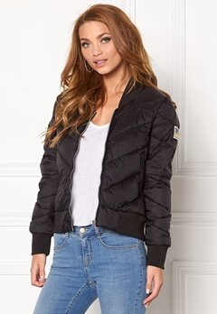 Svea Dawn Jacket 021 Black Bubbleroom.no