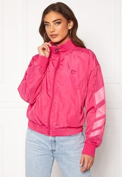 Svea W. Windbreaker Jacket 533 Bright Pink Bubbleroom.se