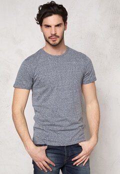 Tailored & Original Oxton T-shirt 1815 Nightshadow Bubbleroom.se
