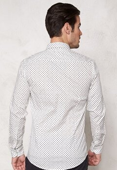 Tailored & Original Penn Shirt 0104 Off White Bubbleroom.se
