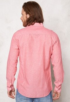 Tailored & Original Roade Shirt 4172 Tomato Bubbleroom.se