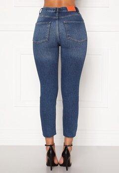 the Odenim O-Crop Jeans 02 Midblue Bubbleroom.se