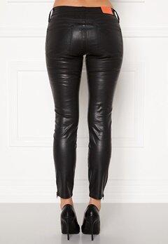 the Odenim O-Kite Jeans 05 Coated Black Bubbleroom.se