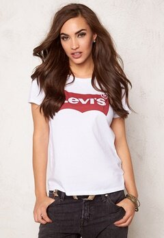 LEVI'S The Perfect Tee 0053 White Bubbleroom.se