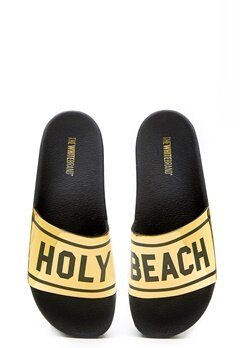 The White Brand High Holy Beach Black/Gold Bubbleroom.se
