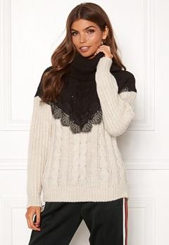 TIFFOSI Lacey Sweater 110 Beige Bubbleroom.se