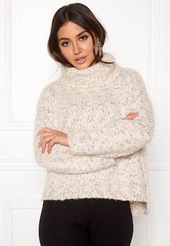 TIFFOSI Slubby Sweater 110 Beige Bubbleroom.se