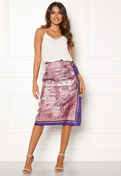 TIGER OF SWEDEN Cognac C Skirt 52M Dirty Fuchsia Bubbleroom.se