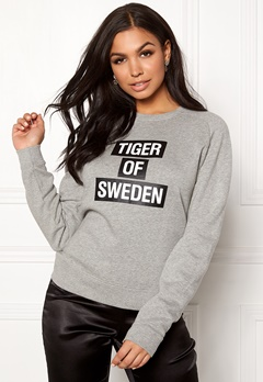 TIGER OF SWEDEN Eriika Sweat Dark White Bubbleroom.se