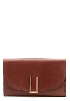 TIGER OF SWEDEN Ervin Small Leather Bag 10M Light Brown Bubbleroom.fi