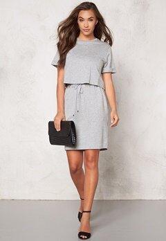 TIGER OF SWEDEN Kelyn Dress M04 Light Grey Mel. Bubbleroom.se