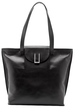 TIGER OF SWEDEN Louise Tote Bag 050 Black Bubbleroom.fi