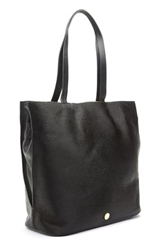 TIGER OF SWEDEN Swansley Leather Handbag Black Bubbleroom.fi